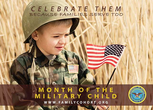 Picture of Military Child 2012