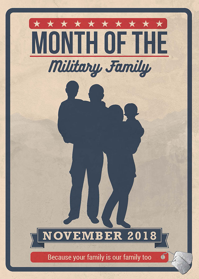 Picture of Military Family 2018